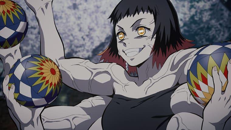 鬼滅の刃のアニメ第10話 朱紗丸