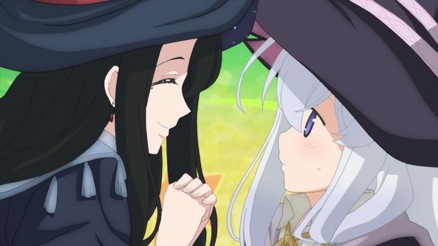 魔女の旅々のアニメ第5話:イレイナとフラン