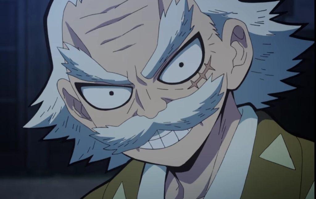 善逸のじいちゃん「桑島慈悟郎」