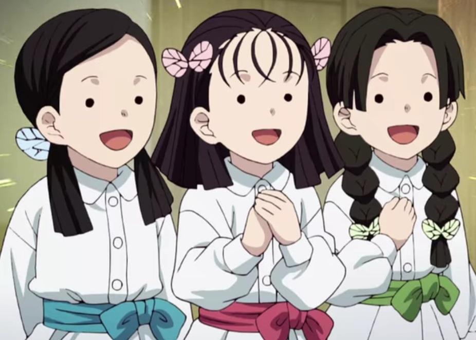 蝶屋敷の三人娘は生きてる?204話で出迎えなし