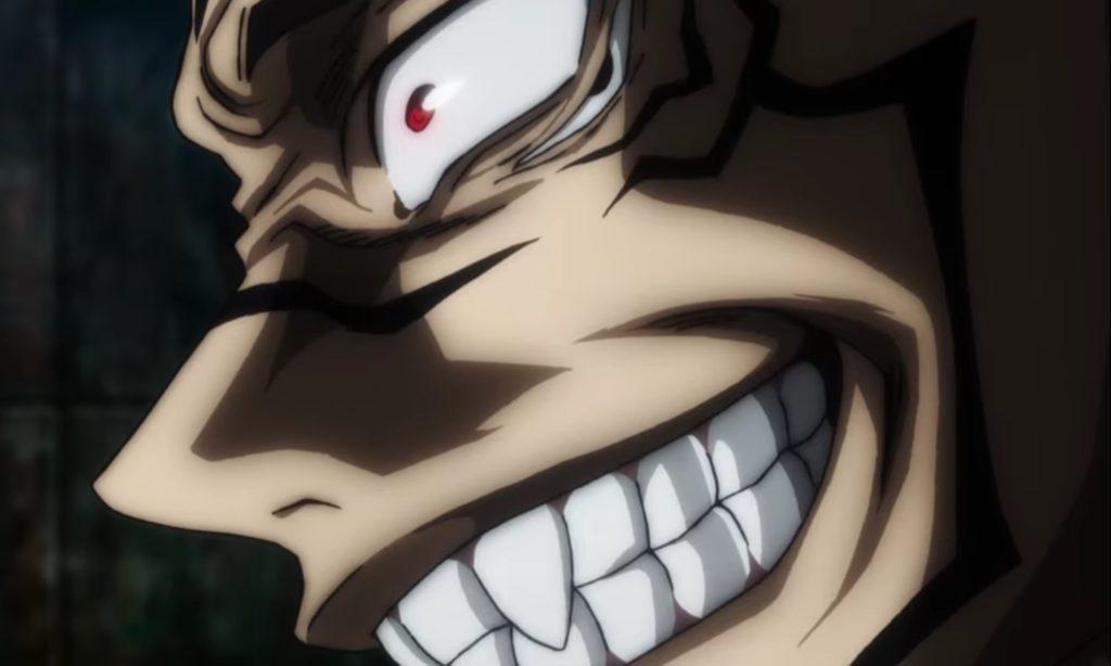宿儺の凶悪な笑顔