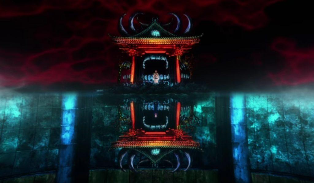 両面宿儺の領域展開「伏魔御廚子(ふくまみづし)」のアニメ版