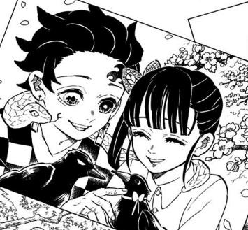 炭治郎とカナヲが結ばれて笑顔