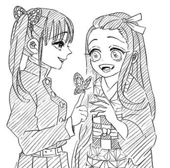 カナヲと禰豆子