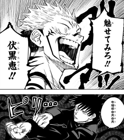 両面宿儺vs伏黒恵