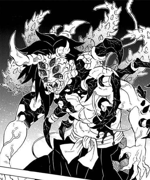 上弦の壱:黒死牟は頸の弱点を克服