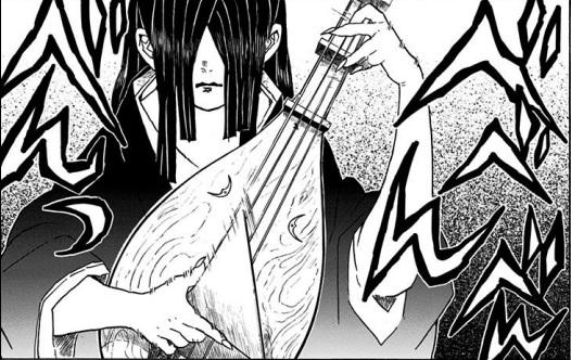 新・上弦の肆:鳴女の血鬼術:無限城のコントロール