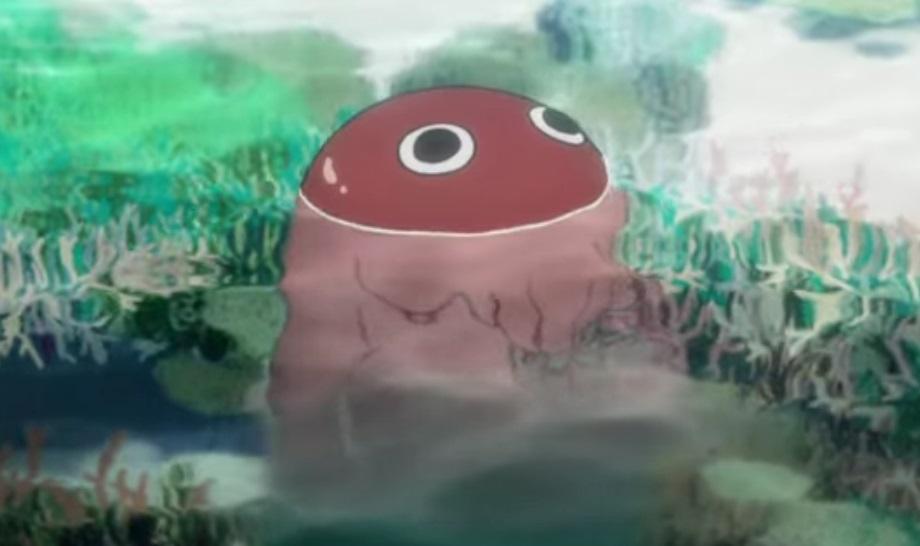 アニメ版の呪術廻戦の陀艮(ダゴン)も癒やし系でかわいい