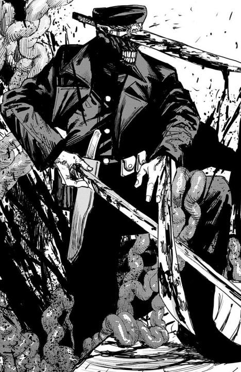 チェンソーマンのサムライソードのかっこいいシーン:「刀の悪魔」の姿