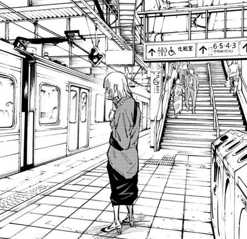 小沢優子のかわいいシーン:涙の別れ(8巻の第64話)