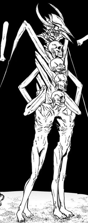地獄の「闇の悪魔」戦から生還(8巻の第64話)