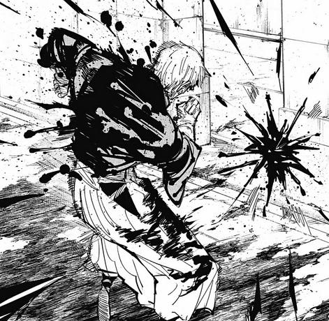 脹相のオリジナル赤血操術「超新星」