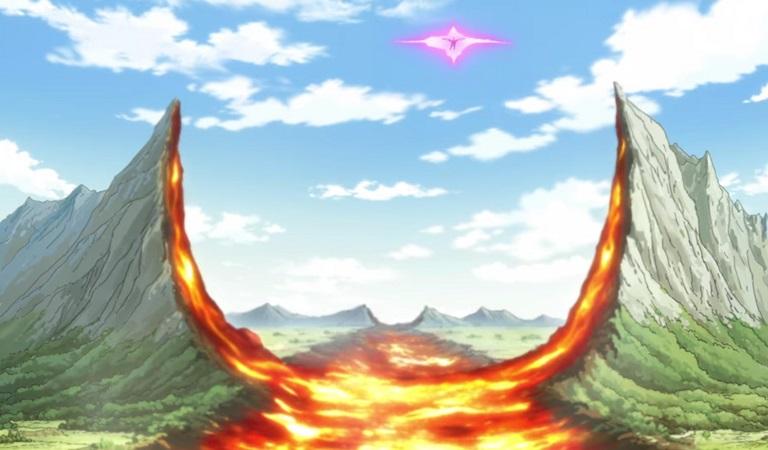 ドラゴノヴァの一撃で地平線の果てまで焼け野原に