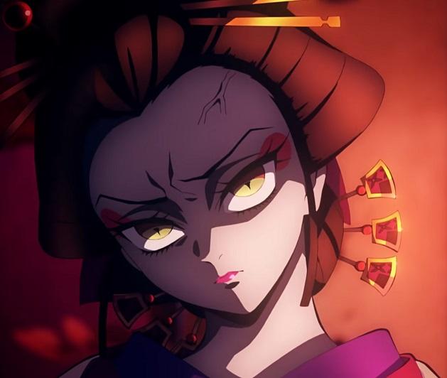 彼女にしたい鬼ランキング第3位:堕姫(だき)