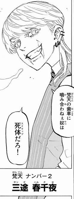 東京リベンジャーズの三途春千夜の正体は?