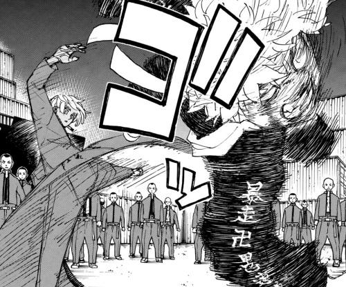 タケミチの強さを戦闘シーン:「関東事変」で黒川イザナと対決