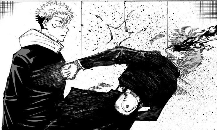 グロいシーン:釘崎野薔薇の死亡(15巻の第125話)