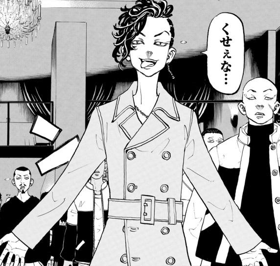 ココの未来(現在):東京卍會の幹部(「聖夜決戦」後)