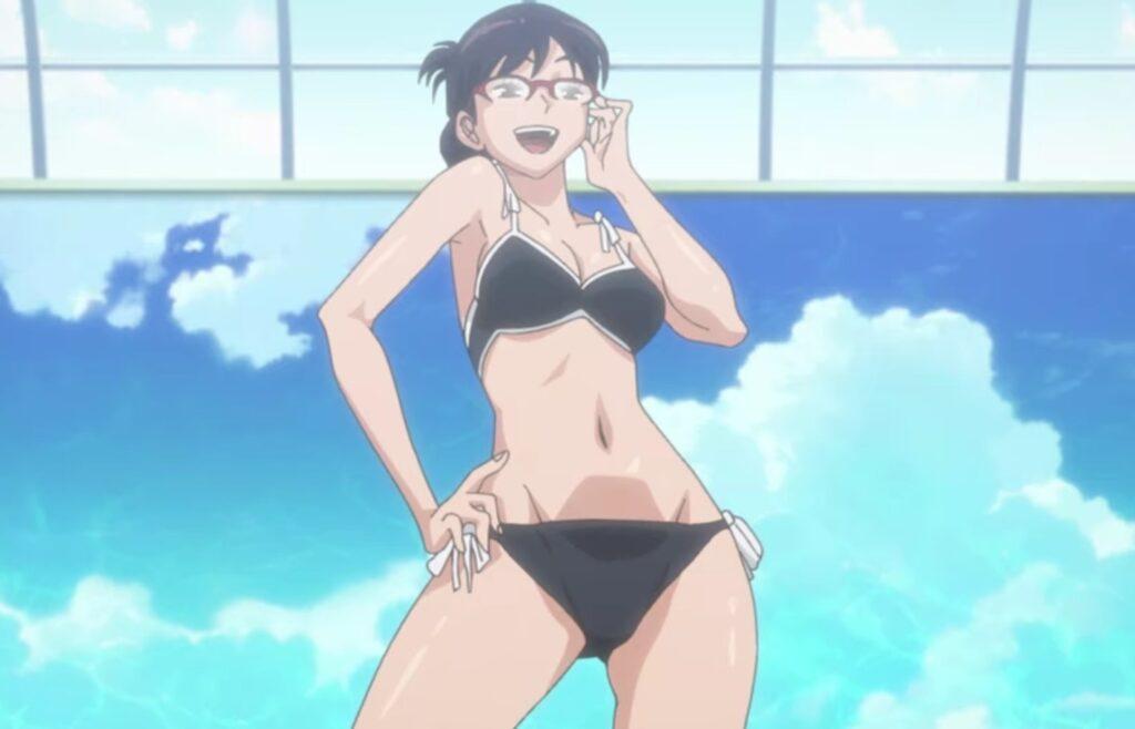 ワールドトリガーの宇佐美栞(うさみしおり)の水着シーンがかわいい!