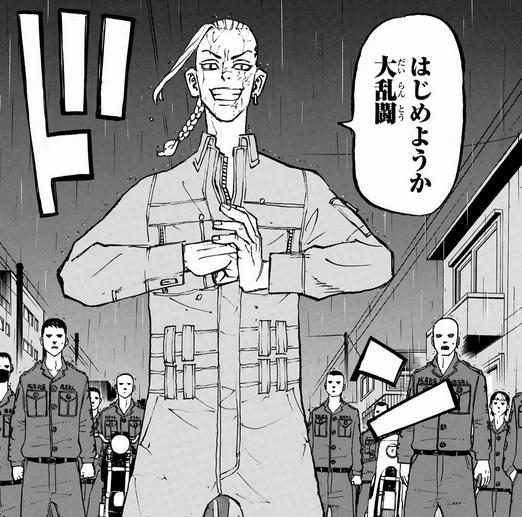 東京リベンジャーズの第213話ネタバレ!ドラケンにエンジンがかかる!