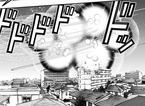 最終戦でメテオラ連発その1(漫画22巻の第192話)