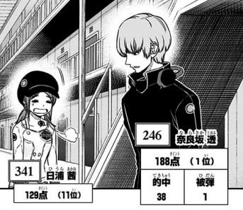 狙撃訓練の1位はいつも奈良坂透