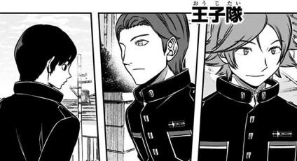 ワールドトリガーの王子隊のメンバーの隊服がかっこいい!