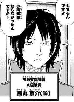 烏丸京介(からすまきょうすけ)