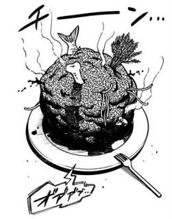 ヨルの料理:生きているミネストローネ
