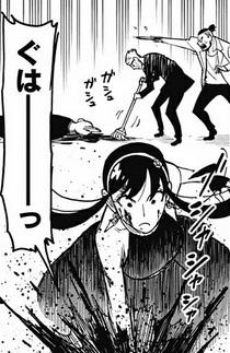 【スパイファミリー】第52話のネタバレ!ヨルと部長が殺し屋集団を殲滅?
