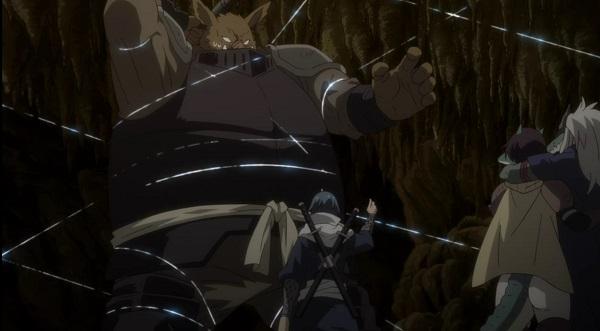 ソウエイの「粘鋼糸」を用いた戦闘がメチャクチャ強い