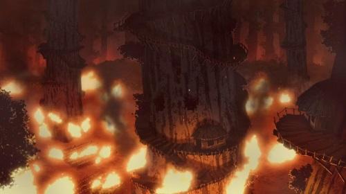 無職転生のアニメ(第2クール)第14話のネタバレ解説:獣族の村が火事に!